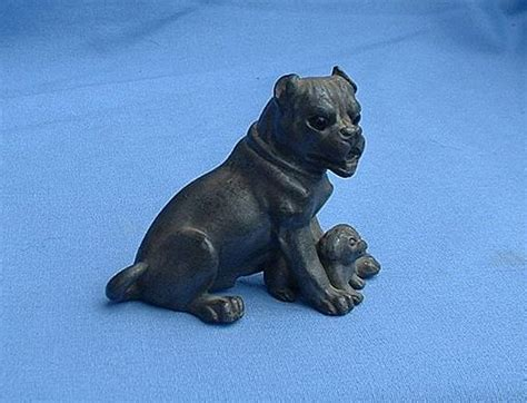 antique pug antique 1900s pug pair glass derby w tuffs from morninglineantiques on