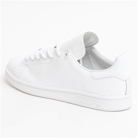 Adidas Stan Smith White adidas stan smith perforated white the sole supplier