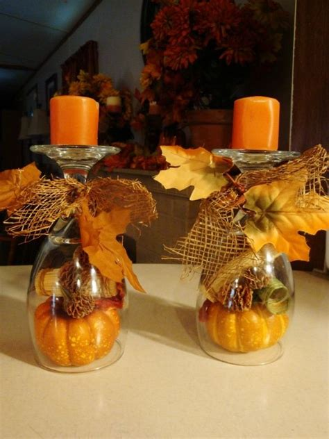candle centerpieces for home 872 best fall decorating ideas images on pinterest fall
