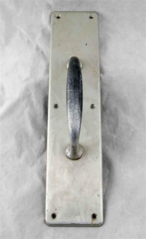 Brushed Nickel Door Hardware by Brushed Nickel Brass Door Pull Olde Things