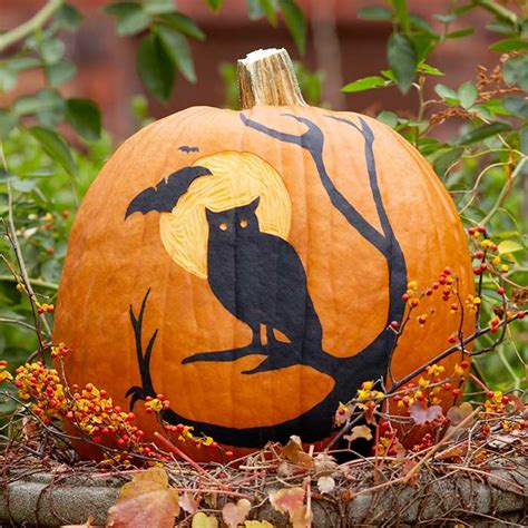 pumpkin paintings easy pumpkin carving ideas
