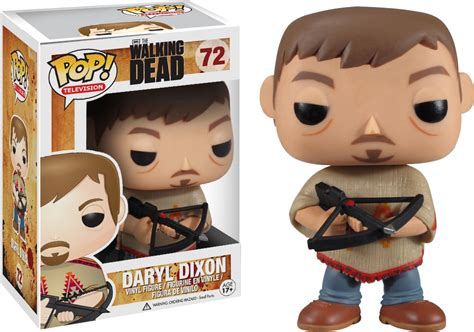 Funko Pop The Walking Daryl Dixon With Rocket Launcher Figure the complete funko pop vinyls walking dead checklist popvinyls