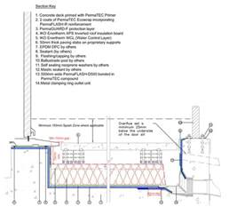 Flat Roof Section Detail by Sig Design Technology Flat Roof Upstand Best Practice