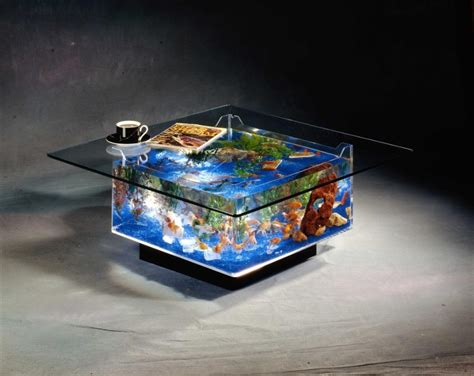 Fish Tank Pool Table by 15 Creative Aquariums And Modern Fish Tanks Designs Part 5
