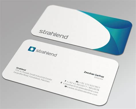 business card template rounded corner psd 20 business cards free psd ai vector eps