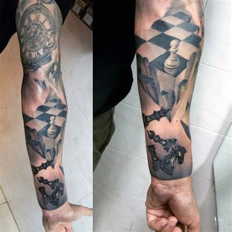 chess tattoos 60 king chess designs for powerful ink