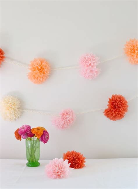 How To Make Paper Flower Garland - best 20 paper flower garlands ideas on flower