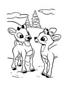 Reindeer coloring sheets rudolph reindeer coloring sheets reindeer