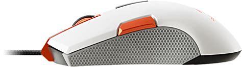 250m White Optical Gaming Mouse Ambidextrous Gaming Design 250m rgb optical gaming mouse white cgr 250m white