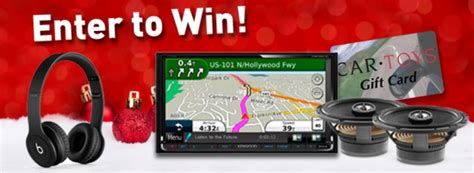 25 Days Of Christmas Sweepstakes - car toys 25 days of christmas sweepstakes win a kenwood audio video receiver more