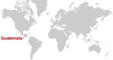 guatemala on world map guatemala map and satellite image