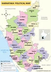 Karnataka District Map Outline by Karnataka Map Karnataka Districts Map Karnataka India Map