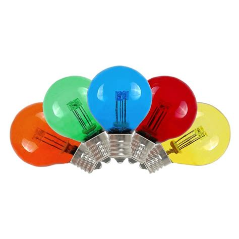 replacement led bulbs for string lights multi colored led g30 glass globe light bulbs novelty lights
