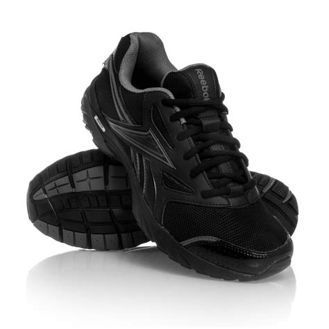 black athletic shoes for reebok running shoes black nolimit nu