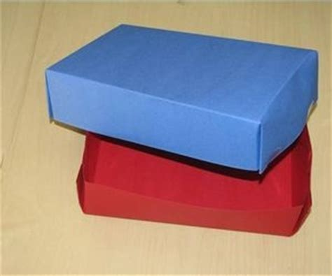 How To Make A Box Out Of Construction Paper - pin by on boxes