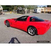 2001 Corvette Coupe  Torch Red On