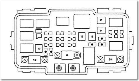 2004 acura tl fuse box diagram 2004 acura mdx fuse box diagram image details