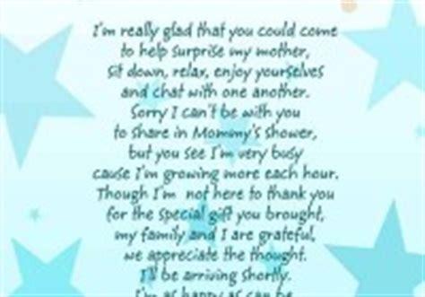 baby shower poems from unborn baby guess the next line of baby shower poem baby shower