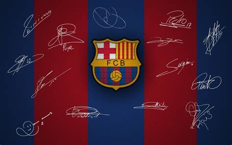 wallpaper tema barcelona fc barcelona logo wallpapers wallpaper cave