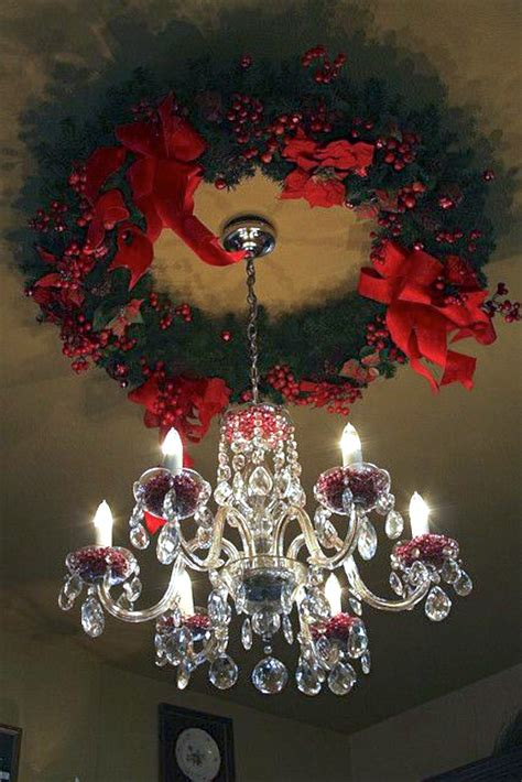 interior christmas wreaths