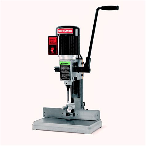 bench mortiser craftsman or25101 hollow chisel mortiser sears outlet