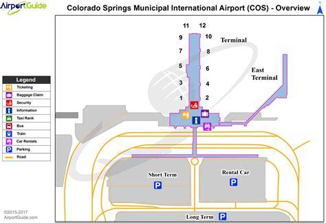 colorado airports map colorado springs city of colorado springs municipal cos