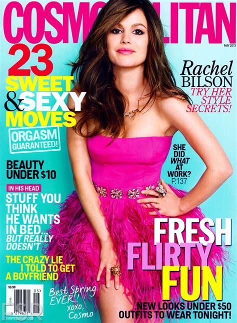 cosmopolitan magazine rachel bilson cosmopolitan magazine may 2013