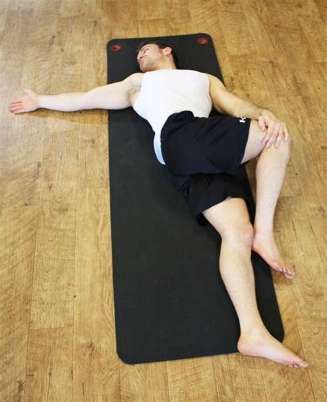 Reclined Spinal Twist by Fst Increase Strength By