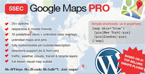 google themes jojo 5sec google maps pro v1 7 wordpress plugin codecanyon