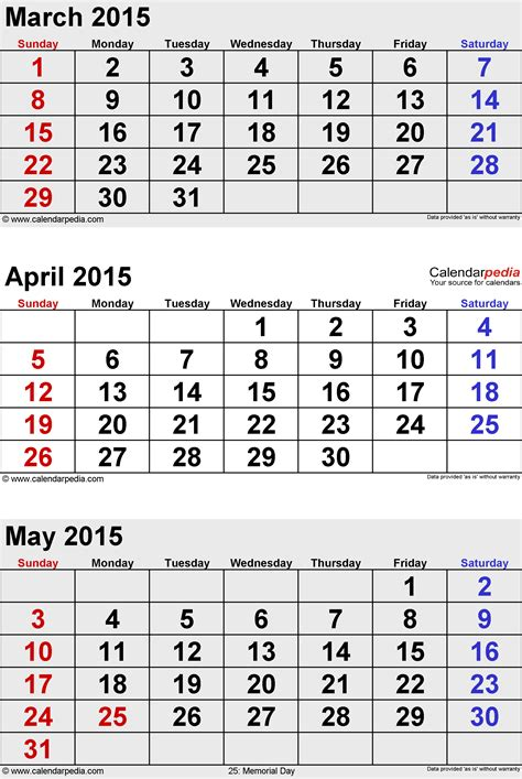 Calendar 2015 May Excel May 2015 Calendars For Word Excel Pdf