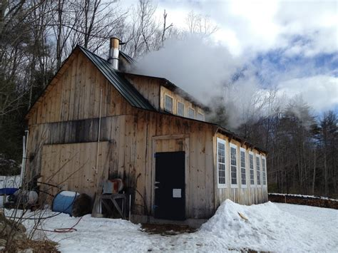 sugar house nilsen landscape design 187 maple syrup making in new hshire