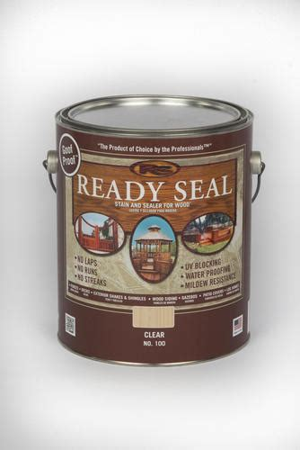 ready seal wood stain sealer  menards