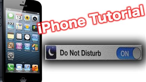 iphone do not disturb how to use the iphone do not disturb feature dnd setting