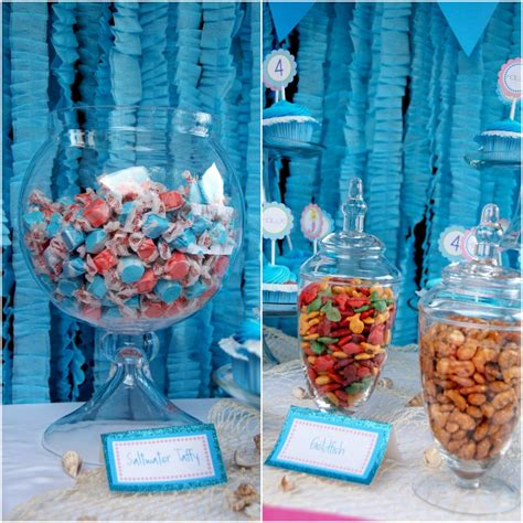 little decorations little mermaid party ideas