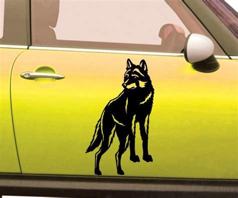 Aufkleber Indianer Und Wolf by Autoaufkleber Indianer Amerika Western Wolf Aufkleber Auto