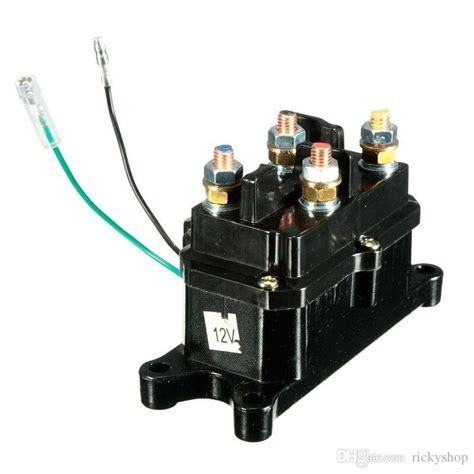 solenoid relay contactor winch rocker thumb switch