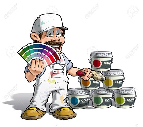 Painter And Decorator In by Painter And Decorator Clipart Clipground