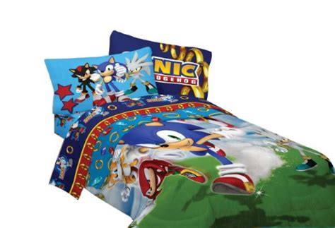 sonic the hedgehog twin sheet set sega sonic speed comforter buy in uae misc products in the uae see prices