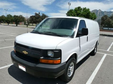 how to fix cars 2010 chevrolet express 2500 on board diagnostic system sell used 2010 chevrolet express 2500 3 4 ton cargo van 4 8l v8 a c auto flex fuel in salt