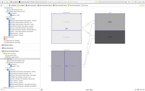 layout ios xcode ios xcode interface builder aspect ratio auto layout all