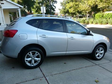silver nissan rogue 2009 sell used 2009 nissan rogue sl sport utility 4 door 2 5l