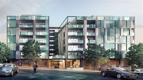 Appartment Melbourne by Rosslyn Apartments West Melbourne Residential Project