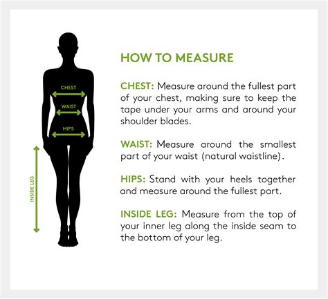 how to measure girth s clothing size chart