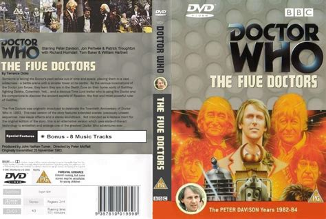 Dvd Who Are You nzdwfc the five doctors by schmidt