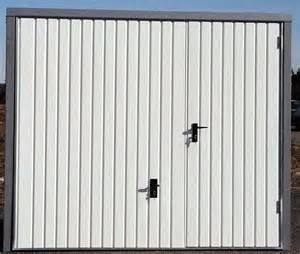 voici la porte de garage basculante monoparoi avec