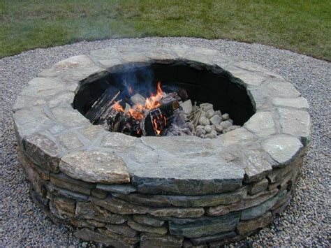how to build a pit with rocks 20 stunning diy pits you can build easily home and
