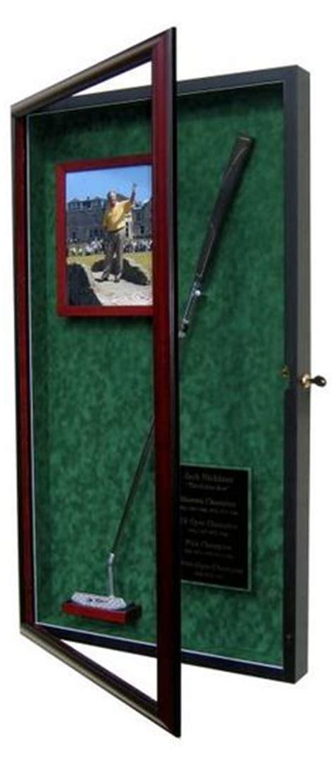 sports memorabilia displays on display