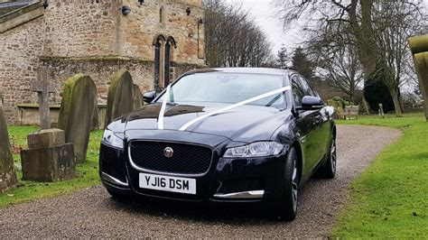 Wedding Car Jaguar Xf by Black Jaguar Xf Wedding Car Hire In Bedale