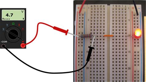 measure resistor with multimeter how to measure voltage with a multimeter dummies