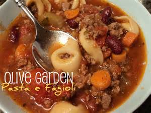 copycat recipe olive garden pasta e fagioli for the crock